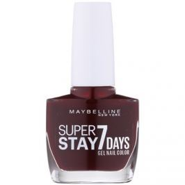 Maybelline Forever Strong Super Stay 7 Days lak na nehty odstín 287 Rouge Couture 10 ml