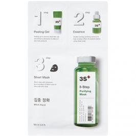 Missha 3-Step čisticí maska ve třech krocích  25 g