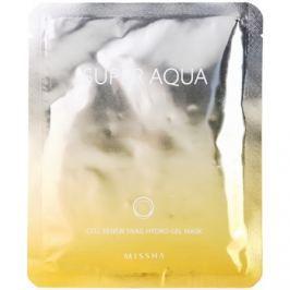 Missha Super Aqua Cell Renew Snail hydratační maska s hlemýždím extraktem  28 g