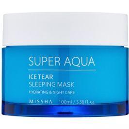 Missha Super Aqua Ice Tear hydratační noční pleťová maska  100 ml