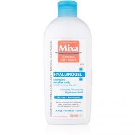 MIXA Hyalurogel čisticí pleťové mléko pro suchou až velmi suchou pleť  400 ml