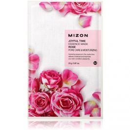 Mizon Joyful Time hydratační plátýnková maska pro stažení pórů  23 g