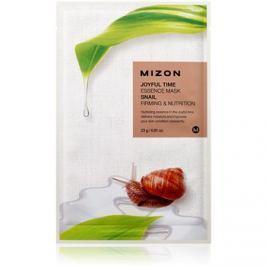 Mizon Joyful Time vyživující plátýnková maska se zpevňujícím účinkem  23 g