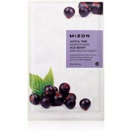 Mizon Joyful Time plátýnková maska pro rozjasnění a vitalitu pleti  23 g