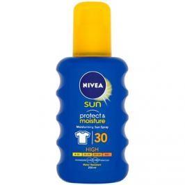 Nivea Sun Protect & Moisture hydratační sprej na opalování SPF30  200 ml