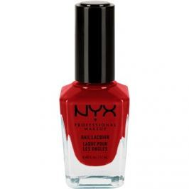 NYX Professional Makeup Nail Lacquer lak na nehty odstín 35 Red Pumps 12 ml