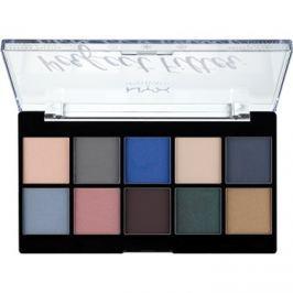 NYX Professional Makeup Perfect Filter paleta očních stínů 05 Marine Layer 10 x 1,77 g