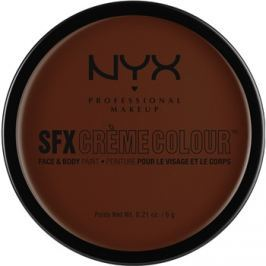 NYX Professional Makeup SFX Creme Colour™ make-up na obličej a tělo odstín 08 Brown 6 g