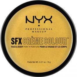 NYX Professional Makeup SFX Creme Colour™ make-up na obličej a tělo odstín 11 Gold 6 g