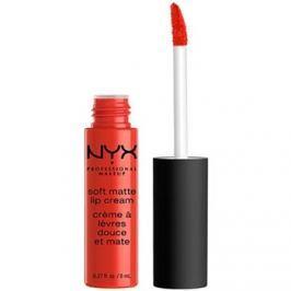 NYX Professional Makeup Soft Matte matná tekutá rtěnka odstín 22 Morocco 8 ml