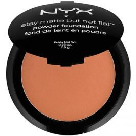 NYX Professional Makeup Stay Matte But Not Flat pudrový make-up odstín 20 Deep Dark 7,5 g