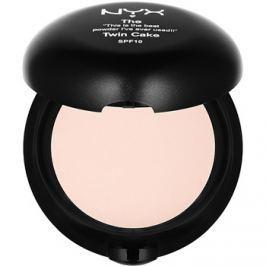 NYX Professional Makeup Twin Cake kompaktní pudr SPF 10 odstín 05 Nude 11 g