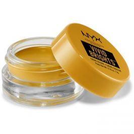 NYX Professional Makeup Vivid Brights krémové oční stíny a linky odstín 10 Light Show 3 g