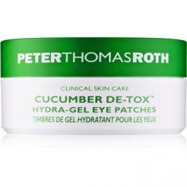 Peter Thomas Roth Cucumber De-Tox hydratační gelová maska na oči 30 Pairs 30 ks