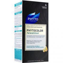 Phyto Color Sensitive permanentní barva na vlasy odstín 4 Chestnut