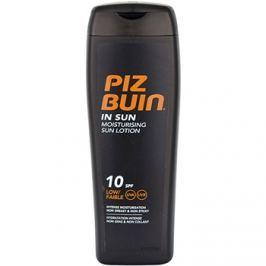 Piz Buin In Sun hydratační mléko na opalování SPF 10  200 ml