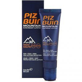 Piz Buin Mountain ochranný krém na obličej a balzám na rty 2 v 1 SPF30  20 ml