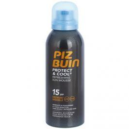 Piz Buin Protect & Cool osvěžující opalovací pěna SPF15  150 ml