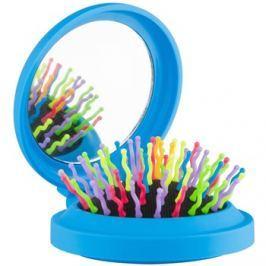 Rainbow Brush Pocket kartáč na vlasy se zrcátkem Blue