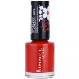 Rimmel 60 Seconds By Rita Ora lak na nehty odstín 300 Glaston Berry 8 ml
