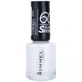 Rimmel 60 Seconds Super Shine lak na nehty odstín 703 White Hot Love 8 ml