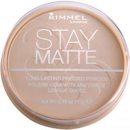 Rimmel Stay Matte pudr odstín 006 Warm Beige  14 g