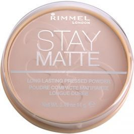Rimmel Stay Matte pudr odstín 002 Pink Blossom  14 g