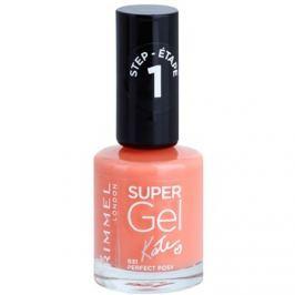 Rimmel Super Gel By Kate gelový lak na nehty bez užití UV/LED lampy odstín 031 Perfect Posy 12 ml