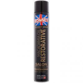 Ronney Macadamia Oil Restorative lak na vlasy se silnou fixací  750 ml