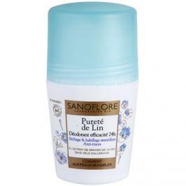 Sanoflore Déodorant deodorant roll-on bez obsahu hliníku 24h  50 ml