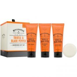 Scottish Fine Soaps Men´s Grooming Thistle & Black Pepper kosmetická sada I.