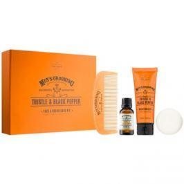 Scottish Fine Soaps Men´s Grooming Thistle & Black Pepper kosmetická sada II.