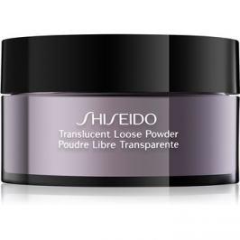 Shiseido Base Translucent transparentní sypký pudr  18 g