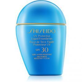 Shiseido Sun Foundation voděodolný tekutý make-up SPF30 odstín Medium Beige  30 ml