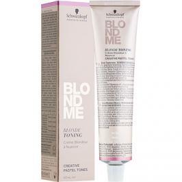 Schwarzkopf Professional Blondme tónovací krém pro blond vlasy odstín T- Caramel  60 ml