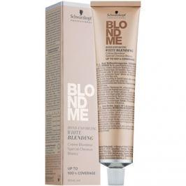 Schwarzkopf Professional Blondme zesvětlující krém pro krytí bílých vlasů odstín W - Caramel  60 ml