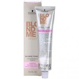 Schwarzkopf Professional Blondme Color tónovací krém odstín Tone Softener  60 ml