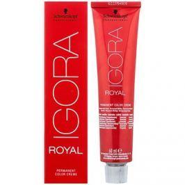 Schwarzkopf Professional IGORA Royal barva na vlasy odstín 1-0  60 ml