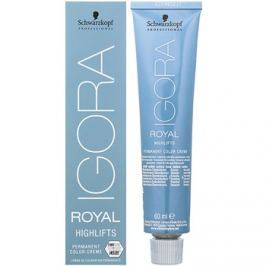 Schwarzkopf Professional IGORA Royal Highlifts permanentní barva na vlasy odstín 10-0 60 ml