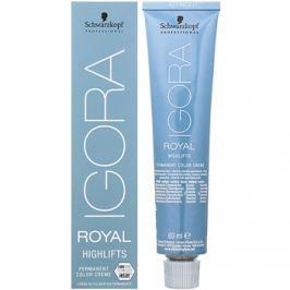 Schwarzkopf Professional IGORA Royal Highlifts permanentní barva na vlasy odstín 10-1 60 ml
