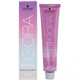 Schwarzkopf Professional IGORA Royal Pearlescence pastelová barva na vlasy P6-89 (Dark Blonde Magenta) 60 ml