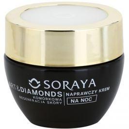 Soraya Art & Diamonds regenerační noční krém pro obnovu pleťových buněk 60+  50 ml