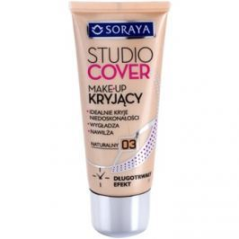 Soraya Studio Cover krycí make-up s vitamínem E odstín 03 Natural  30 ml
