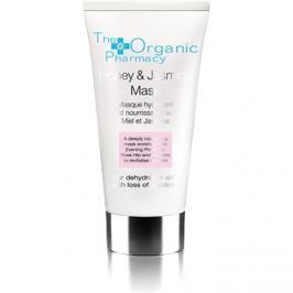 The Organic Pharmacy Skin pleťová maska s jasmínem a medem pro suchou pleť  60 ml