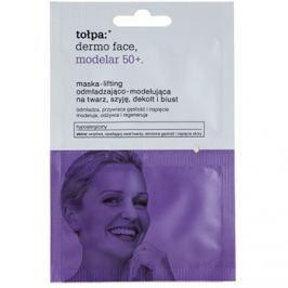Tołpa Dermo Face Modelar 50+ liftingová vypínací maska na obličej, krk a dekolt  2 x 6 ml