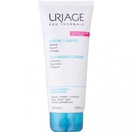 Uriage Hygiène vyživující čisticí krém na tělo a obličej  200 ml