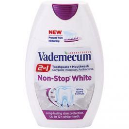 Vademecum 2 in1 Non-Stop White zubní pasta + ústní voda v jednom  75 ml