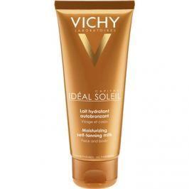 Vichy Idéal Soleil Capital hydratační samoopalovací mléko na obličej a tělo  100 ml