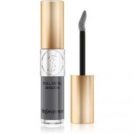 Yves Saint Laurent Full Metal Shadow metalické oční stíny odstín 1 Grey Splash 4,5 ml