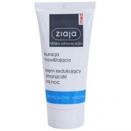 Ziaja Med Hydrating Care noční protivráskový krém pro citlivou a suchou pleť  50 ml